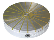 Elektropermanentní magnety, elektromagnety k brousícím strojům a zařízením