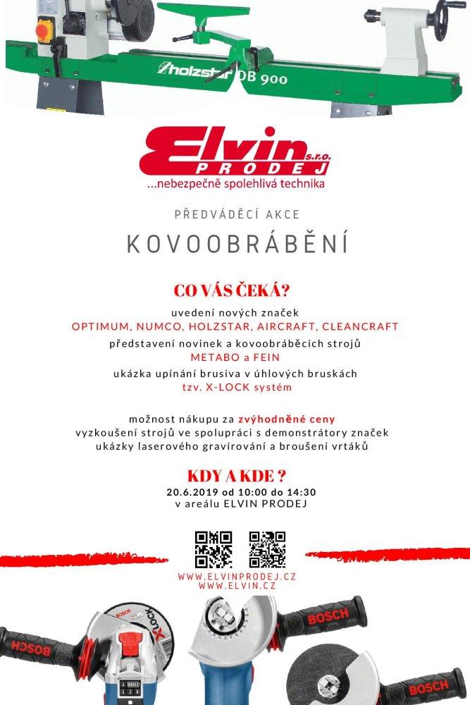 Předváděcí akce kovoobrábění ELVIN